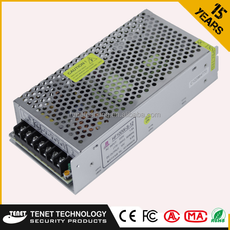Power Supply 12v/Switch Power Supply for Parking Lots System