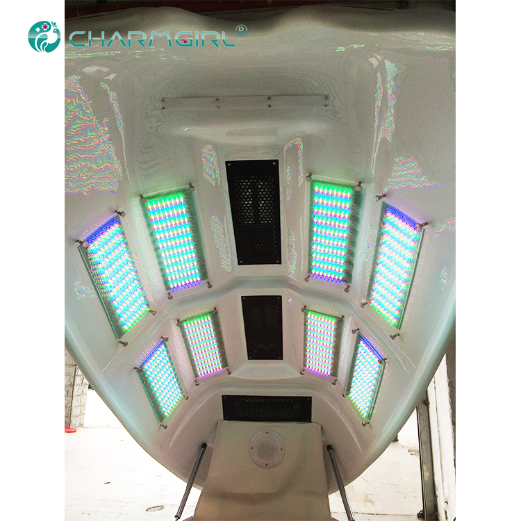 2018 Beauty salon use spa machine / infrared heat spa capsule with LED light S-233C