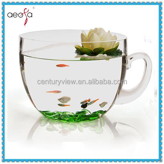 Grande tazza di design decorazione domestica di vetro for Design di architettura domestica gratuito