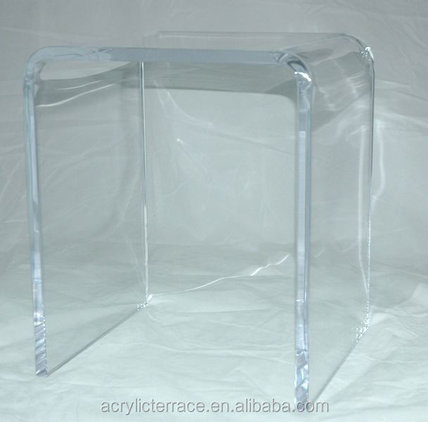 3 4 Quot Thick Clear Acrylic Shower Bench Or Stool Buy