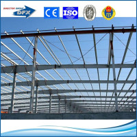 earthquake resistant design prefabricated steel structural warehouse building