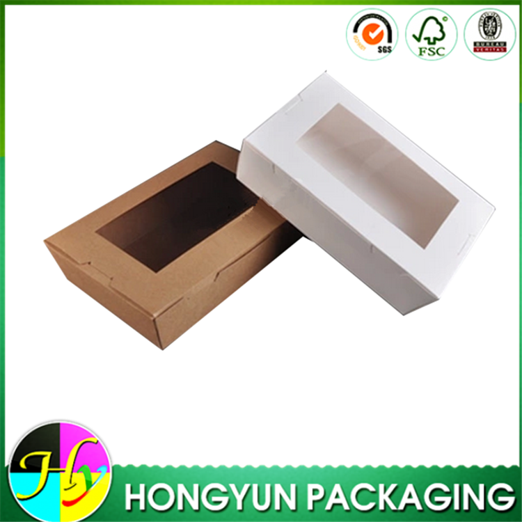 Leakproof Disposable Paper Lunch Box Container