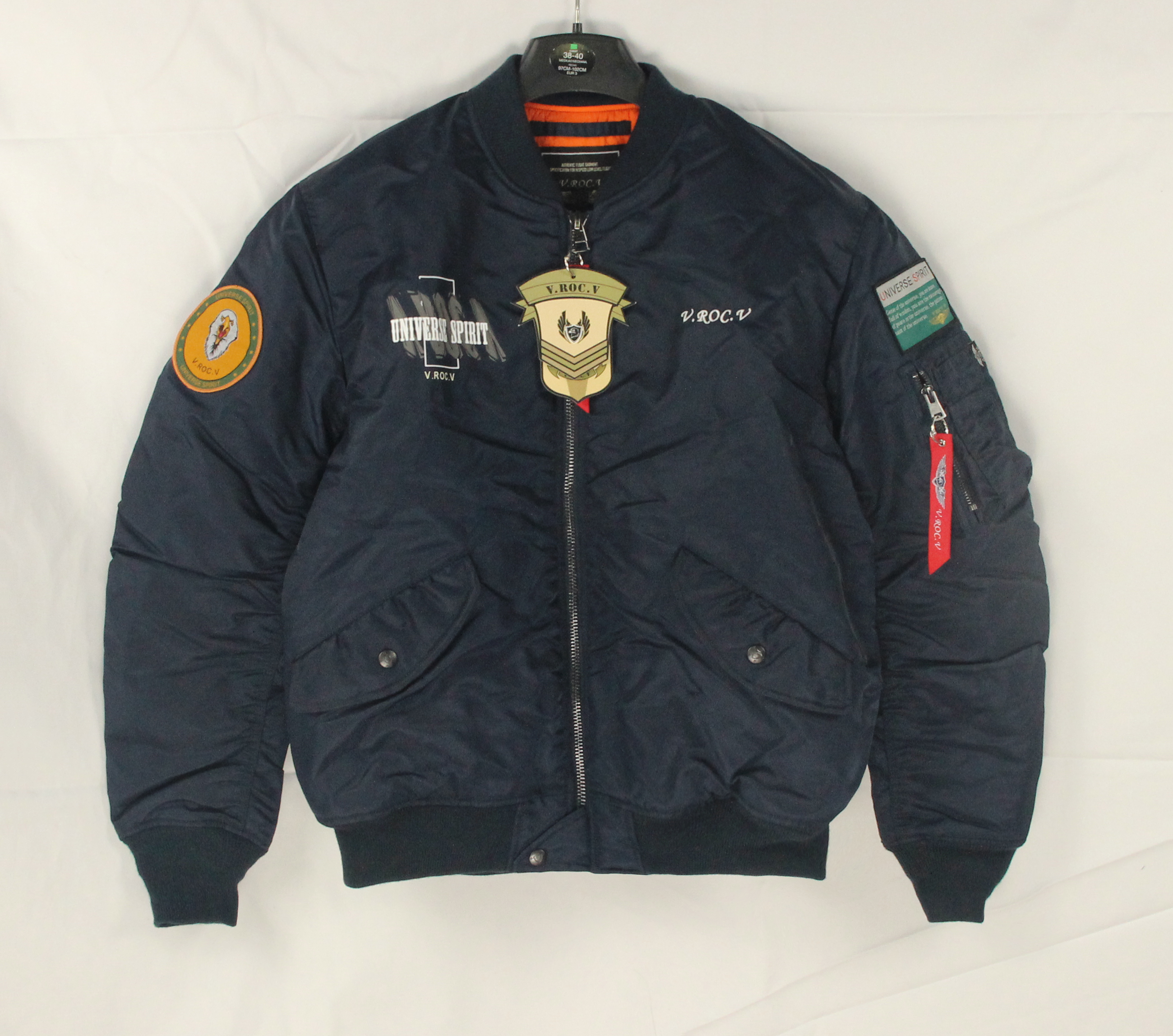 2020 hot sale good supplier V.ROC.V <strong>Mens</strong> <strong>winter</strong> flight <strong>jacket</strong>