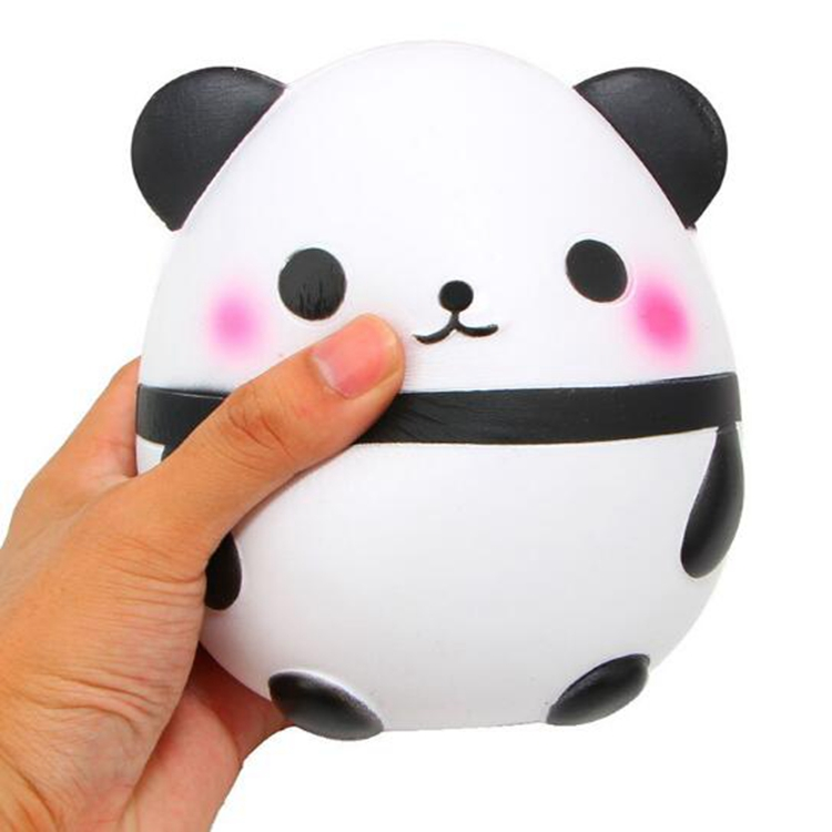 Ebay best selling high quality Kawaii jumbo panda slow rising squishy animal toys scented