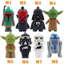 Cartoon model USB 3.0 2.0 flash drive Memory stick Pen drive usb disk