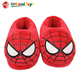 Indoor warm fuzzy house shoes furry plush animal spider slippers fluffy for men