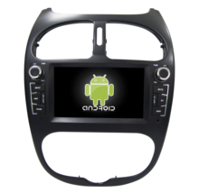 MEKEDE 9 ''<span class=keywords><strong>Car</strong></span> <span class=keywords><strong>Multimedia</strong></span> Player 4G lte <span class=keywords><strong>Android</strong></span> 7.1 2 GB + 16G Lettore DVD Dell'automobile per peugeot 206 Wifi GPS Auto Radio 2G + 16G