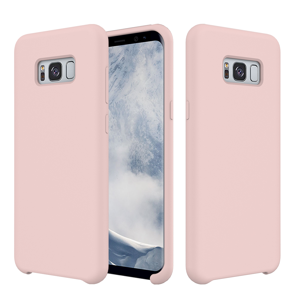 For Samsung Galaxy S8 Plus Phone Coverofficial Soft Touch Silicone Original Cover Casing Official Rubber Mobile Case