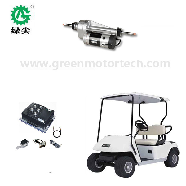 1400W electric vehicle AC drive system, electric golf cart <strong>motor</strong>, controller and rear axle