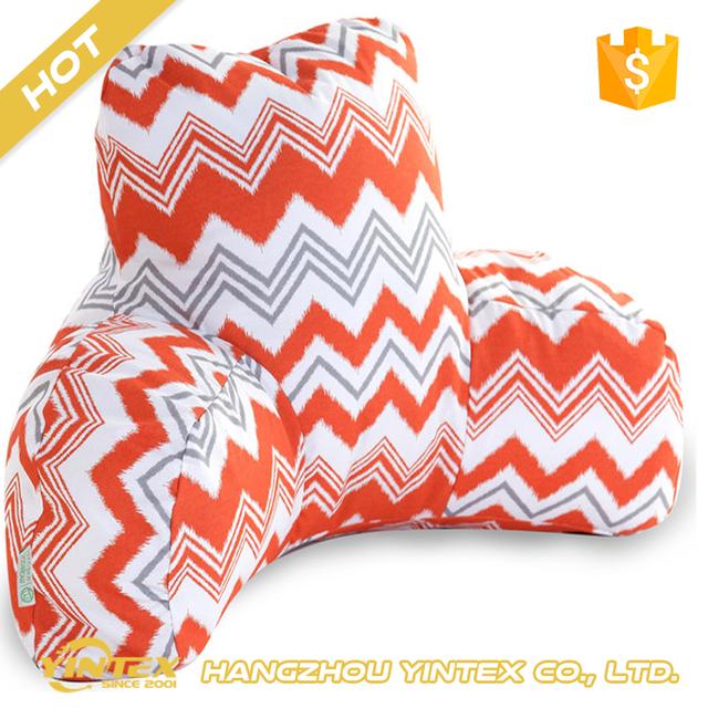 Comfort Back Pillow Travel Portable Car Seat Bed Rest Custom Reading Tv
