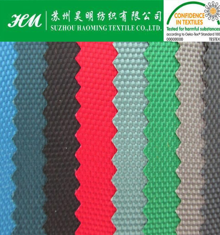 ECO-TEX 600D polyester oxford fabric 600D poly oxford fabric
