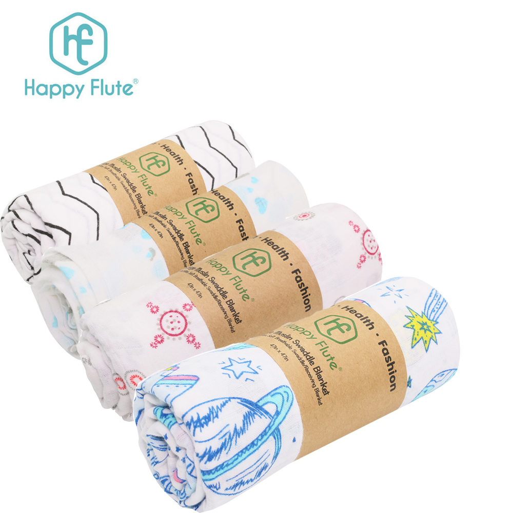 "High quality soft 100% cotton blanket muslin wrap blanket 47x47"" blankets <strong>baby</strong>"