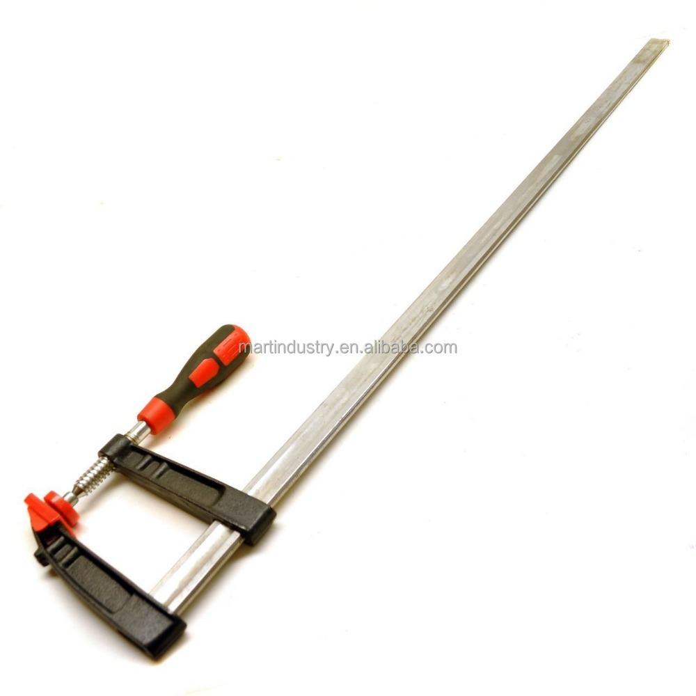 F Clamp / Sliding G Clamp with Soft Grip Handle 1000mm x 120mm