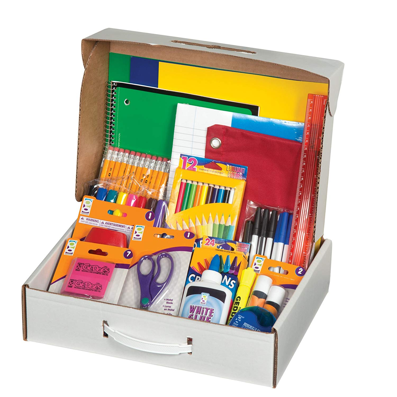 7-Eleven Back to School Supply Kit, Elementary School, with Slurpee Pop Socket