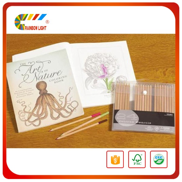 Exquisite new style beijing CMYK spot UV coating hardcover coloring pages to print