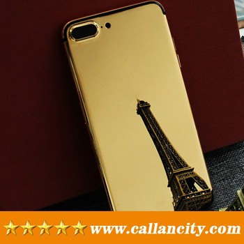 Gold Plated Mobile Phone Housing For Iphone 724k Real Cell