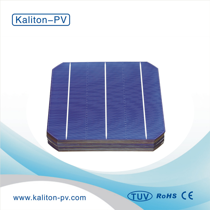 156mmx156mm A-GRADE High Efficiency Monocrystalline 3BB Solar Cell for Sale