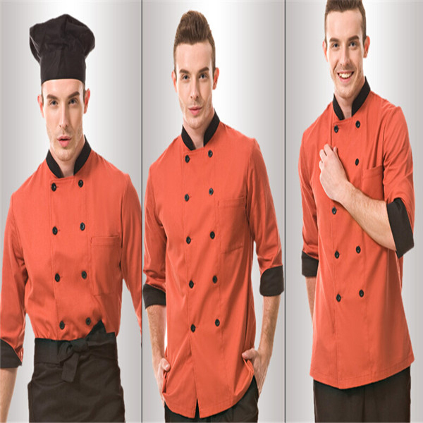 Hombres uniformes de chef bar chef uniformes uniformes de for Uniformes de cocina precios