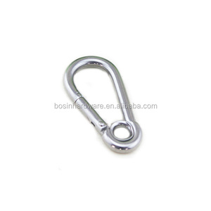 Fashion High Quality Metal Stainless Steel Carabiner With Eyelet