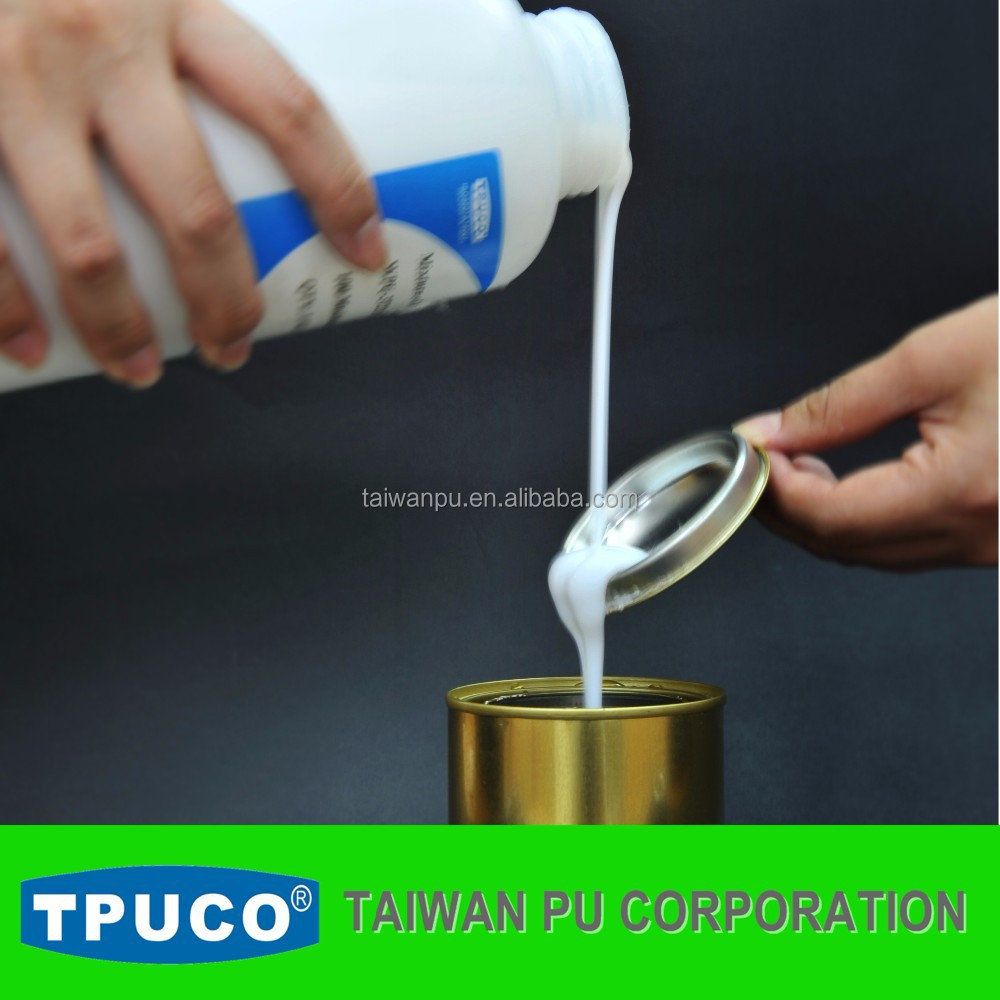 Water based liquid PU resin for leather coating