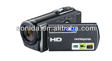 tv out web use digital video camera camcorder 16 digital zoom up to 20MP 3.0-inch rotation screen 1080P full 601S