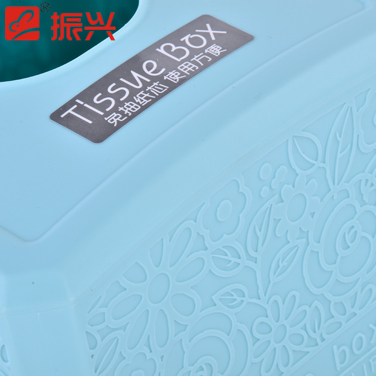 Wholesale custom multi color flower carved paper tissue box wholesale facial tissue box