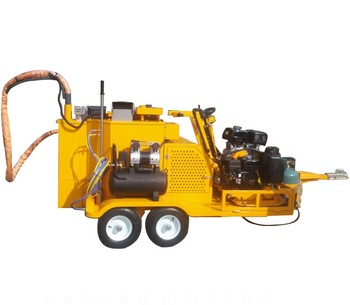 break pavement straight line crack patching equipment cement pavement patching kettle crack repair break pavement