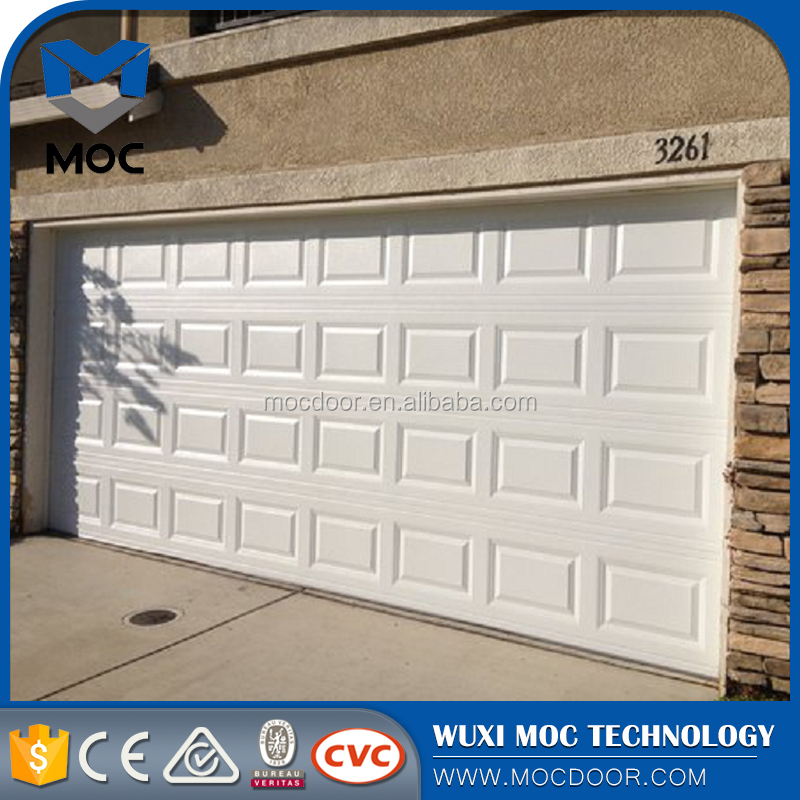 Aluminum and steel door Commercial sectional door / store front security grilles/garage grill gates