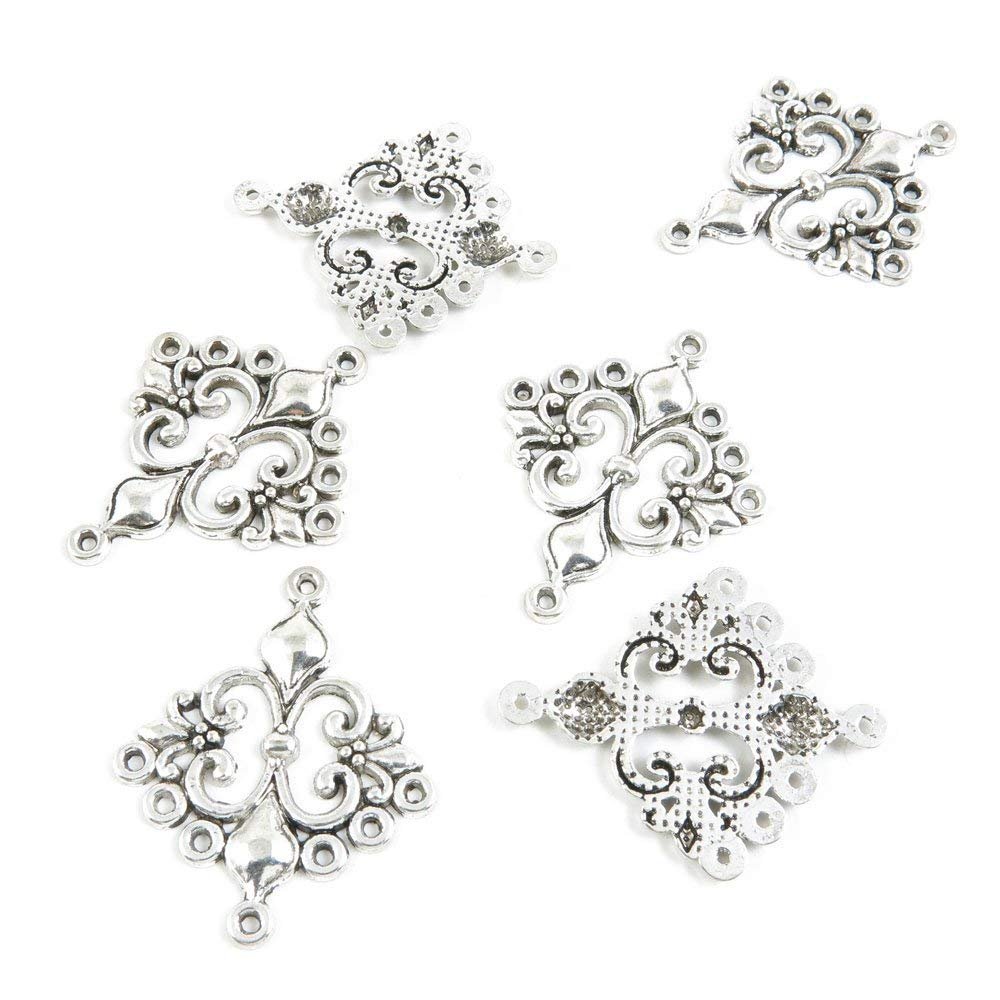 GiftJewelryShop Silver Plated Yellow Calla Lily Photo Flower Head Dangle Heart Bead Charm Bracelets