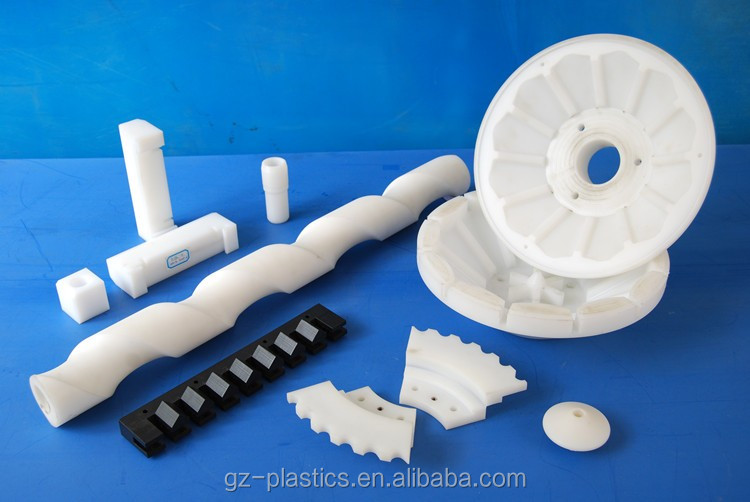 Customized Engineering Fitting Screw High Precision White