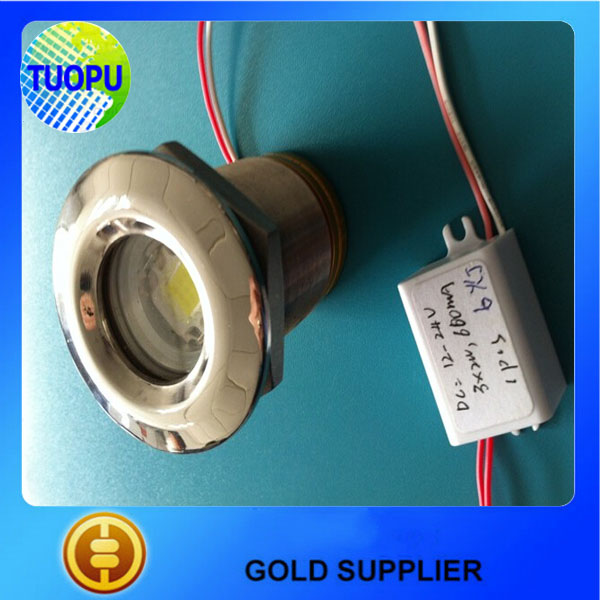 China wholesale 12v 10w marine yacht led Underwater lights,stainless steel waterproof underwater lights