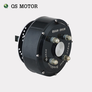 High torque QS Motor 205 3000W 50H V3 E-car brushless gearless hub motor