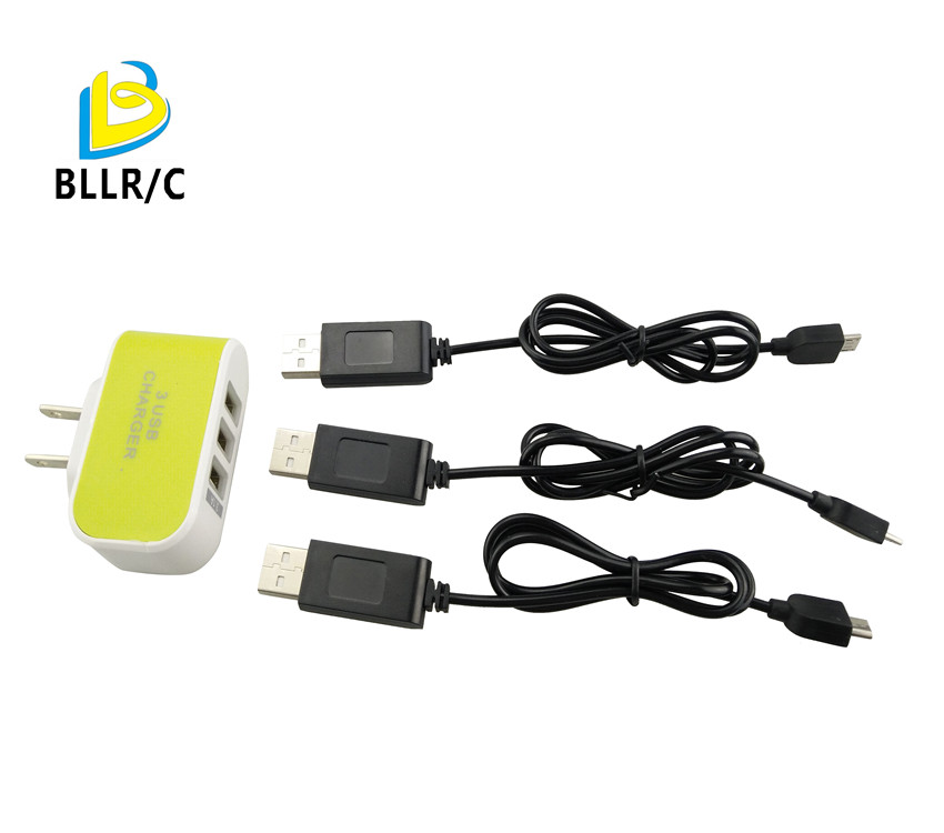 5 in 1 Lipo Battery USB Charging Cable for XS809 XS809HC XS809HW Quadcopter