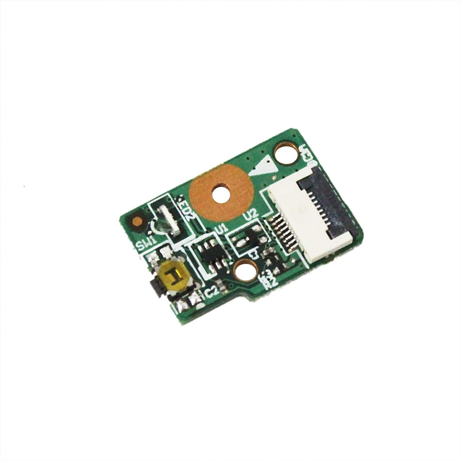 GinTai Power Switch Button Board Replacement for Lenovo Flex 2-14 2-14D 2 15 15D 59426098 5C50F76769 5C50F78739 5942 20404 20405