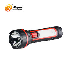 super september hand torch light solar rechargeable flashlight with tail light