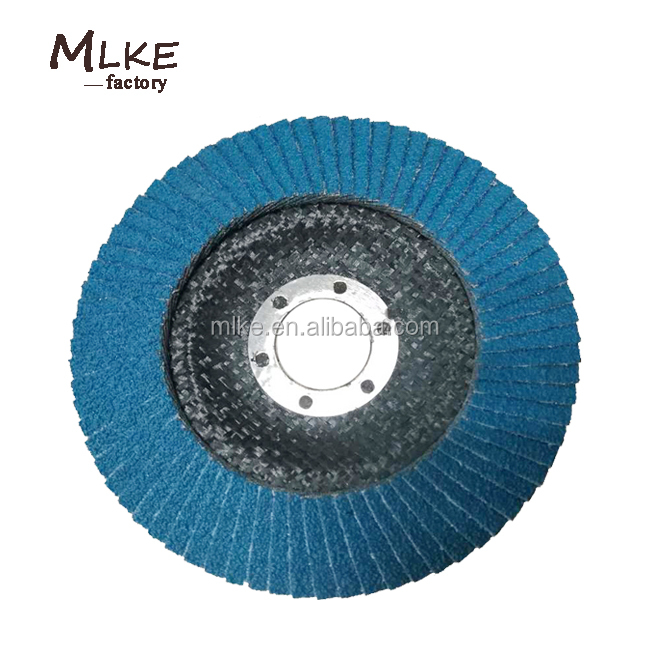 "2017 Best abrasives tools 4"" ~ 7"" zirconia aluminum flexible flap disc"