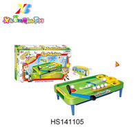 Promotion Toys Kids Mini table golf toy set indoor golf