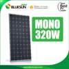 Bluesun monocrystalline pv solar panel 320w for flat roof