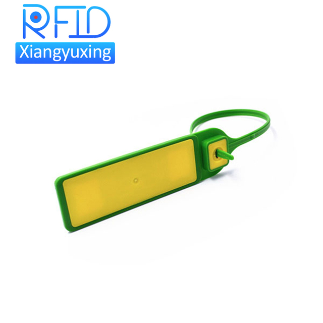 Plastic seal secure zip ties ISO14443A ISO15693 NFC rfid cable seal tag
