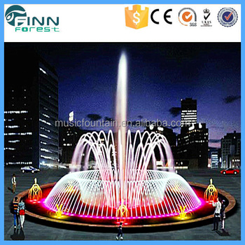 Large Outdoor Garden Water Fountain Decorative Music Dancing Fountain