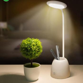 Multi Function Rechargeable Led Table Lamp With Pen Holder Eye