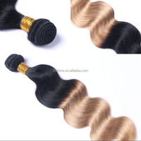 New products high quality 100 vietnamese hair 1b 613 color ombre human hair extensions