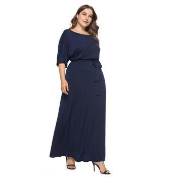 abfdb7dee Nueva fábrica al por mayor los colores mezclados suave algodón mujeres vestidos  casual largo vestido de
