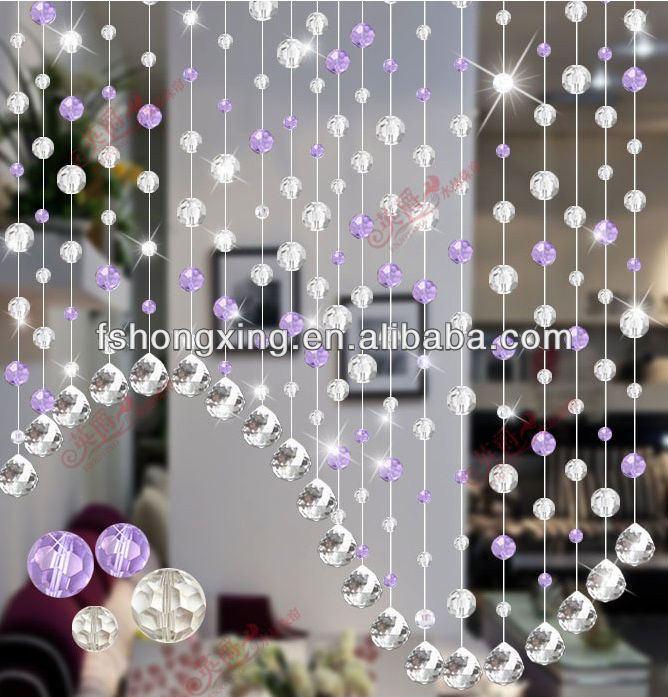 Bc23 Wholesale Handmade Acrylic Hanging Bead Door Curtain Bedroom Curtains Room  Divider For Home Decoration And Living Room - Buy Room Divider Curtain ... - Bc23 Wholesale Handmade Acrylic Hanging Bead Door Curtain Bedroom