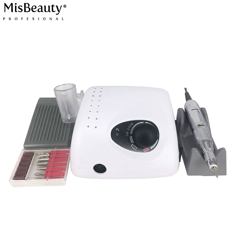 98 Poland like this 35000 RPM professional nail drill machine 35000rpm nail drill strong 210 for hand feet pedicure