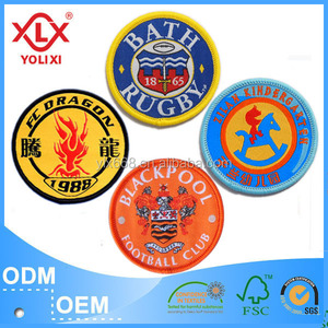China Low Minimum Order Quantity school badges factory