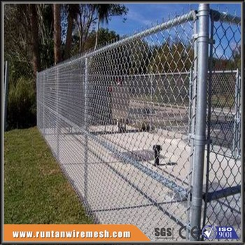 Chain Link Fence With Top Rail Pipe Trellis Buy Chain