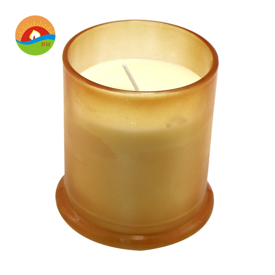 100% scented soy candle glass jar/organic eco soya wax candle