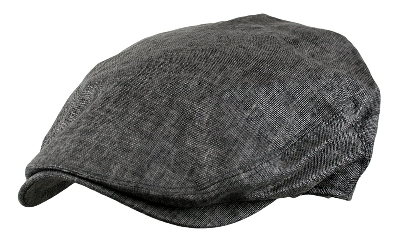 Get Quotations · Men s Linen Gatsby Newsboy Golf Flat Ivy Hat eaedcff3d7e6