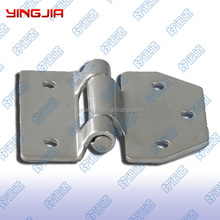 Stainless steel trailer truck toolbox door hinge, Furniture hinges for doors and cabinets
